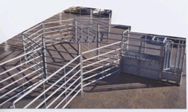Fangefold etableret af fangeboks + 3 meters gitre