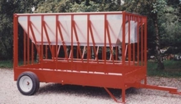 Mobil fodercontainer-RB300 3x2m