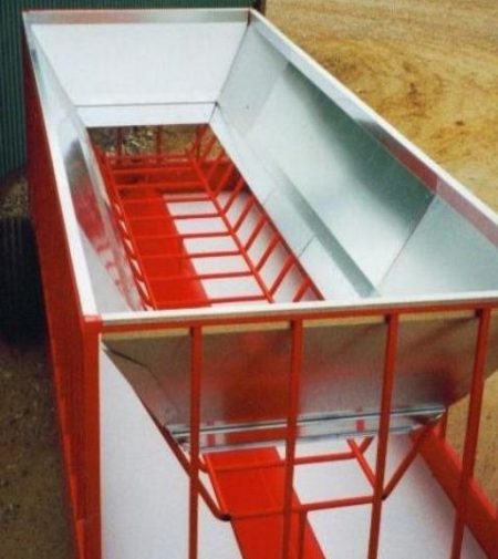 Containerindsats til foderhæk